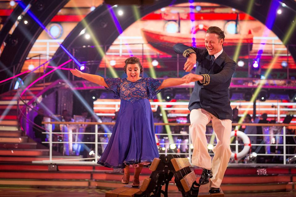 Susan and Kevin left the competition last night. Copyright: [BBC]