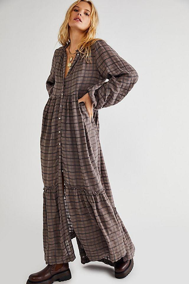 """<h2>Free People Edie Dress</h2><br><strong><em>The Goddess Dress</em></strong><br><br>With a little bit of boho and a lot of plaid, this maxi dress mixes up all the top trends with an ethereal silhouette to boot.<br><br><strong>The Hype: </strong>4.6 out of 5 stars; 123 reviews on FreePeople.com<br><br><strong>What They're Saying</strong>: """"Love everything about this dress…especially all of the compliments I get when wearing. I have the white and just purchased the brown. Literally have never worn it and not be told how amazing it is. Will make you feel like the goddess you should feel like. I am 5'8"""" and about 160lbs - purchased large and medium love how both fit and have styled for every season of the year with flip flops and knee boots you can't go wrong with this dress!"""" — MrsDenham, Free People reviewer<br><br><em>Shop</em> <strong><em><a href=""""https://www.freepeople.com/shop/edie-dress/"""" rel=""""sponsored"""" target=""""_blank"""" data-ylk=""""slk:Free People"""" class=""""link rapid-noclick-resp"""">Free People</a></em></strong><br><br><strong>Free People</strong> Edie Dress, $, available at <a href=""""https://go.skimresources.com/?id=30283X879131&url=https%3A%2F%2Fwww.freepeople.com%2Fshop%2Fedie-dress%2F"""" rel=""""sponsored"""" target=""""_blank"""" data-ylk=""""slk:Free People"""" class=""""link rapid-noclick-resp"""">Free People</a>"""
