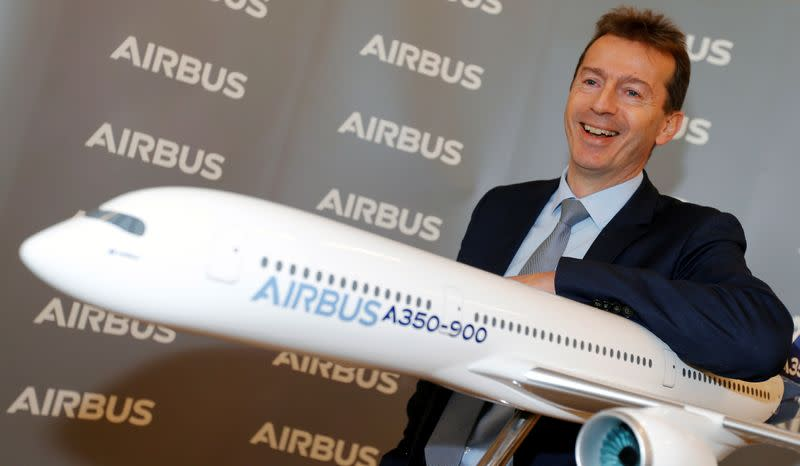 Airbus's annual press conference on Full-Year 2019 results in Blagnac