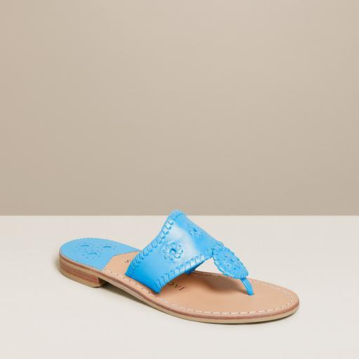 """<p><strong>Jack Rogers</strong></p><p>jackrogersusa.com</p><p><strong>$128.00</strong></p><p><a href=""""https://go.redirectingat.com?id=74968X1596630&url=https%3A%2F%2Fwww.jackrogersusa.com%2Fproducts%2Fjacks-flat-sandal-lapis&sref=http%3A%2F%2Fwww.townandcountrymag.com%2Fstyle%2Ffashion-trends%2Fg30896202%2Fstylish-spring-shoes%2F"""" target=""""_blank"""">Shop Now</a></p><p>Grab a pair of Jacks in a fresh color for your spring break getaway. </p>"""