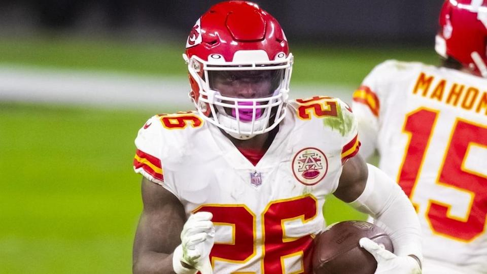 Le'Veon Bell Chiefs white jersey