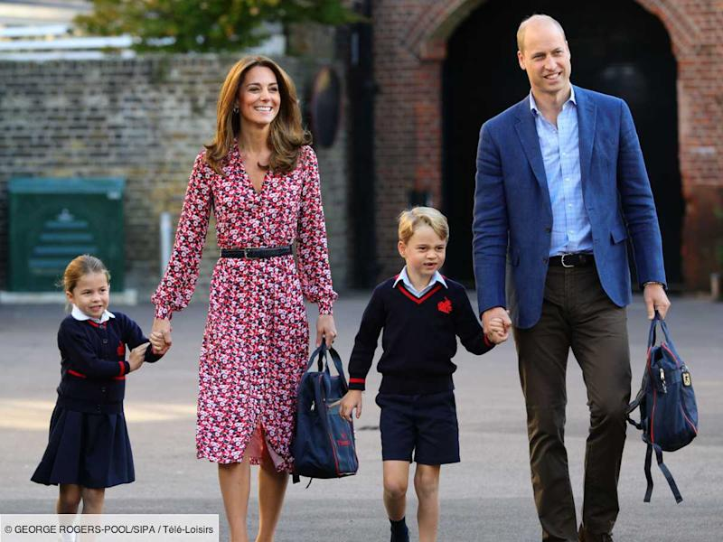 Kate et William partagent une adorable photo avec George et Charlotte, et rendent hommage à la princesse Diana