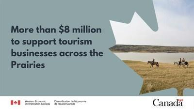 Government of Canada Regional Relief and Recovery Fund to Save Tourism Jobs on the Prairies (CNW Group / Western Economic Diversification Canada)