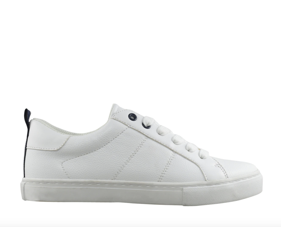 white leather Tommy Hilfiger Lamzey Sneakers