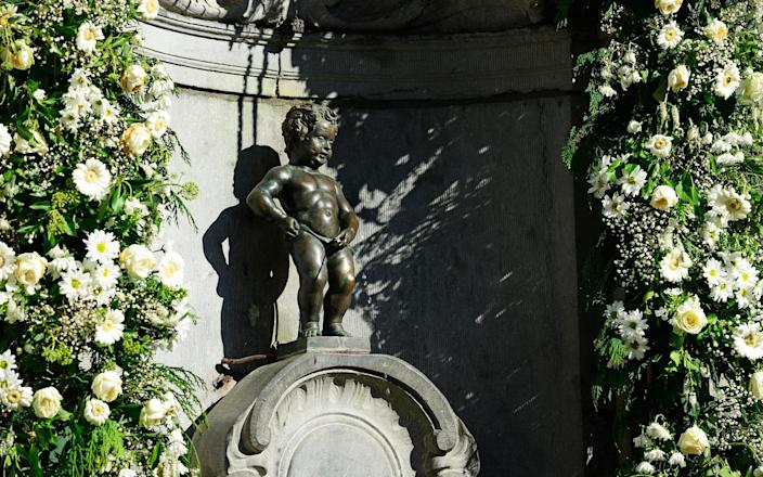 No one can quite explain how a tiny bronze statue has become the city's emblem and mascot, but the Manneken-Pis has played this role for centuries - Norbert Eisele-Hein