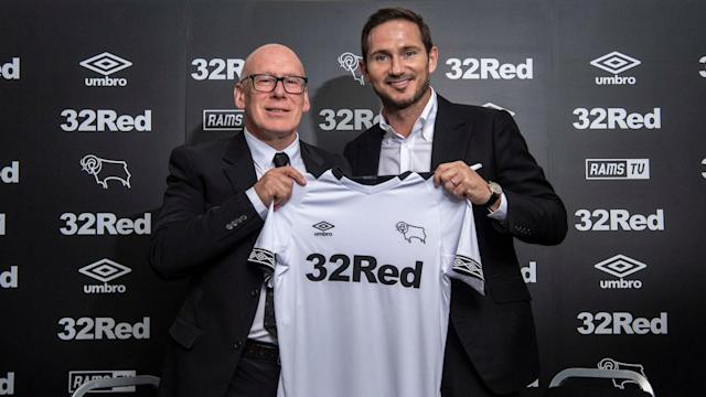 Derby County have found their successor to Gary Rowett, having appointed former England and Chelsea star Frank Lampard as manager.