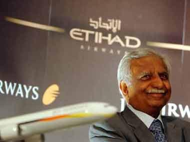 Naresh Goyal likely to step down from board, Jet Airways accepts Etihad bailout plan; both airlines to ink pact soon