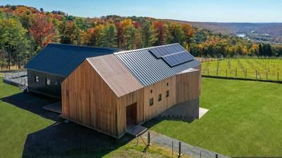 Baxter Builds Seminary Hill Orchard and Cidery - First Passive House Certified Cidery in the World