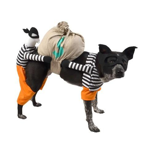 Boots & Barkley Burglar Full Body Dog Costume. (Photo: Target)