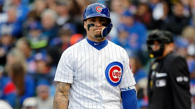 The Cubs second baseman flipped his bat after popping out in Wednesday's game against the Pirates, leading teammates to talk to him.