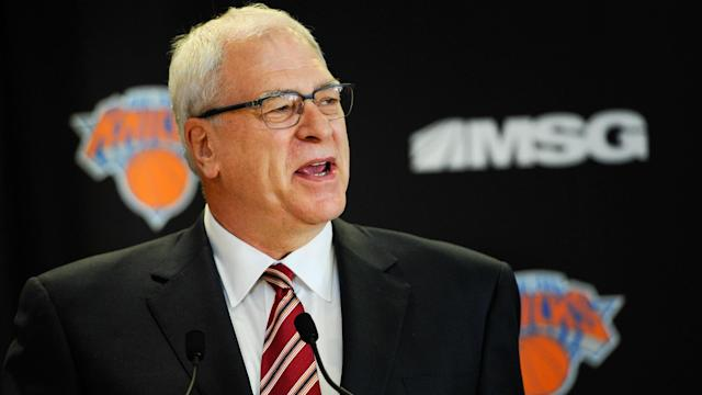 The NBPA hit back at New York Knicks president Phil Jackson on Saturday amid uncertainty over Carmelo Anthony.