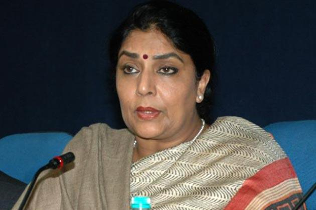 Renuka Chaudhary: Former Union minister Renuka Chaudhary took oath in Hindi.