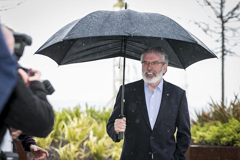 The power-sharing administration at Stormont is placed under new risk after a historic vote for Sinn Fein: PA