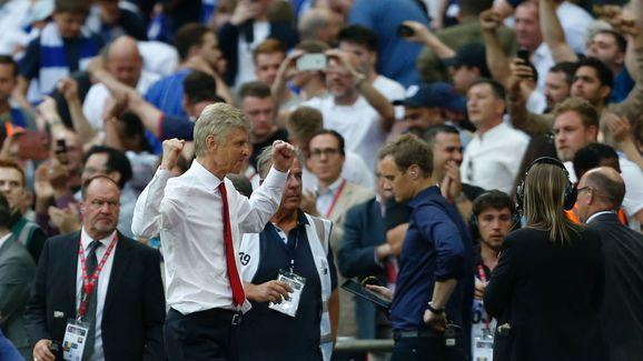​Arsenal became the most successful club in the FA Cup's history on Saturday with their 13th triumph, moving above Manchester United. Manager Arsene Wenger also made history as he won his seventh FA Cup trophy, a total better than any of his predecessors. The 67-year-old overtook former Aston Villa manager George Ramsay with victory against Chelsea at Wembley. Aaron Ramsey scored the winning goal minutes after Diego Costa had levelled the scores at 1-1. Alexis Sanchez had previously given the...