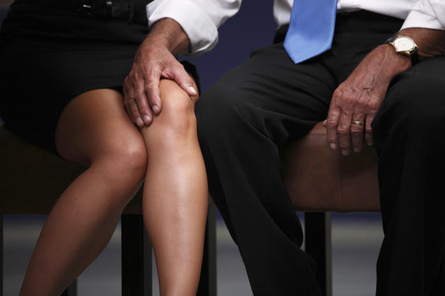 Despite hundreds of women and men saying they have been sexually harassed at work, 95 per cent of Canadian chief executives say it's not a problem in their workplaces. (Getty Images)