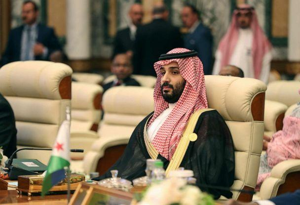 PHOTO: Saudi Crown Prince Mohammed bin Salman attends the extraordinary Arab summit held at al-Safa Royal Palace in Mecca, May 31, 20109. (Bandar Aldandani/AFP/Getty Images, FILE)