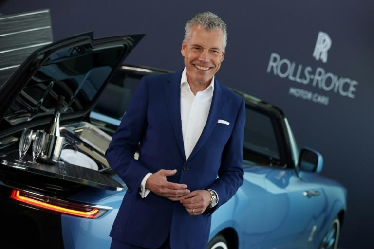 """Rolls-Royce Motor Cars chief executive Torsten Muller-Otvos told AFP: """"Quite a lot of our clients said that Covid taught them that life can end easily tomorrow and now is time to enjoy your life."""""""