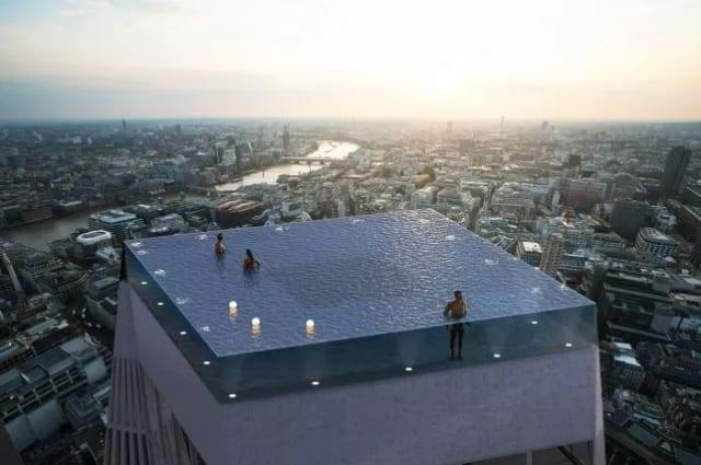 Infinity pool planned for London