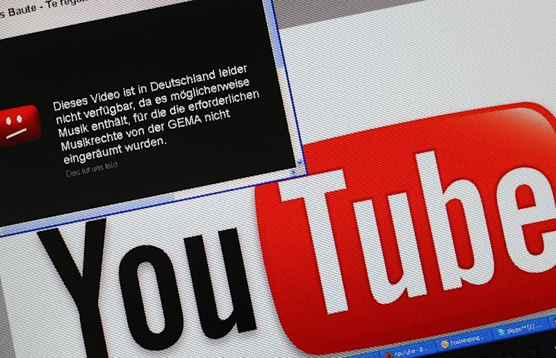 German YouTube alive with sound of music after copyright deal