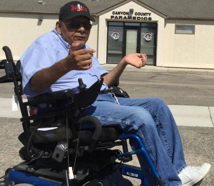 Wilder Councilman Lupe Garcia said he was paralyzed 36 years ago when he drove drunk and crashed his car, rolling it four times and breaking his spine. Today, Garcia said, he counsels young people to avoid his mistakes.