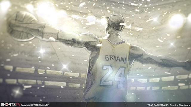 Glen Keane brings Kobe Bryant's story to animated life in <em>Dear Basketball.</em> (Photo: ShortsHD)