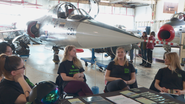 Women in aviation celebrated at Alberta museum