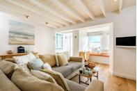 """<p>If we could buy any coastal property right now, this hideaway would be it. </p><p>Built around 1850, this converted coastguard cottage is whitewashed which gives it a really modern, airy and spacious feel but it's also peppered with homely warm touches thanks to artwork and fabric decorations from local artists. </p><p>With paddleboards, kayaks and a child safe heated outdoor swimming pool, this is a perfect spot for friends and groups of families. There's a local pub specialising in seafood that also hosts quizzes, while a local ferry will take you to Daphne Du Maurier's Fisherman's Creek.</p><p><strong>Cottage for six people, price on request </strong></p><p><a class=""""link rapid-noclick-resp"""" href=""""https://go.redirectingat.com?id=127X1599956&url=https%3A%2F%2Fwww.toadhallcottages.co.uk%2Fholiday-cottages%2F4-coastguard-cottage%2F2583&sref=https%3A%2F%2Fwww.elle.com%2Fuk%2Flife-and-culture%2Fculture%2Fg33261665%2Fcoastal-cottages%2F"""" rel=""""nofollow noopener"""" target=""""_blank"""" data-ylk=""""slk:BOOK ONLNE"""">BOOK ONLNE</a></p>"""