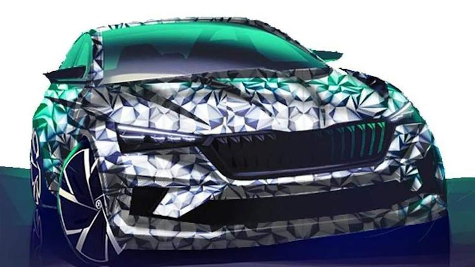 SKODA SLAVIA to be unveiled in India later this year