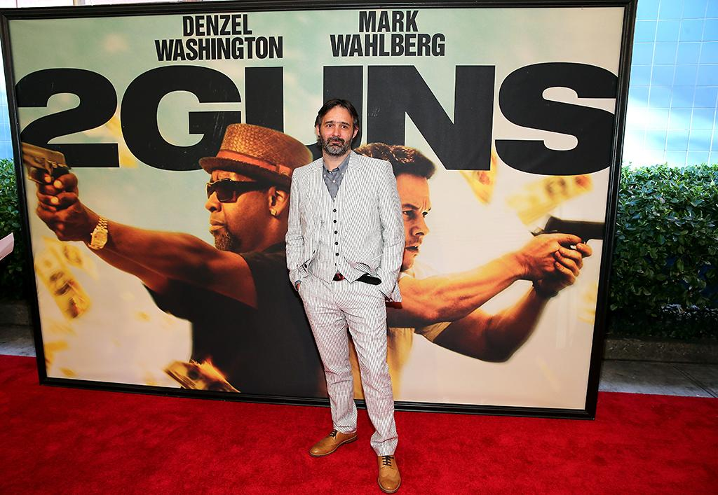 "NEW YORK, NY - JULY 29: Director Baltasar Kormakur attends ""2 Guns"" New York Premiere at SVA Theater on July 29, 2013 in New York City.  (Photo by Neilson Barnard/Getty Images)"