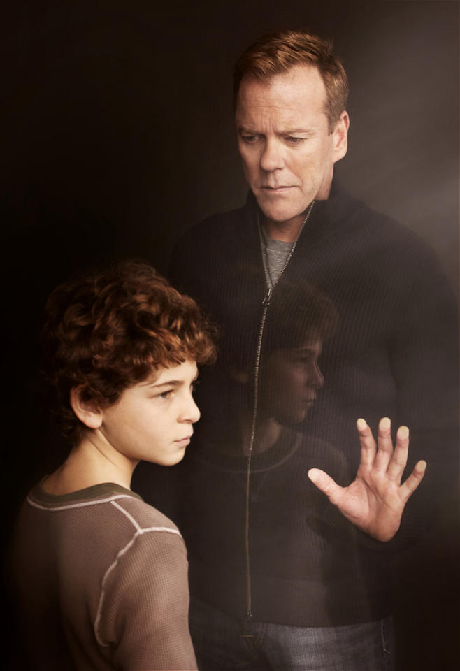 """<b>""""Touch""""</b> (Fox)<br>Thursdays at 9 PM<br><br><b>The Good News:</b> Airing after the """"Idol"""" results show has ensured that """"Touch"""" has maintained a solid demo rating. But the bigger renewal clincher is that Jack Bauer Kiefer Sutherland is an international star. 20th Century TV, the studio that produces """"Touch"""" and before that """"24,"""" has already invested heavily in the show, launching it in more than 30 countries.<br><br><b>The Bad News:</b> Overall viewership has slid 40 percent since premiering in its regular Thursday slot."""
