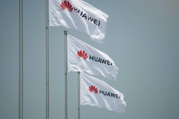 Russia's move with Huawei may be as much a show of solidarity with Beijing against the US as it is a drive to bring ultra high-speed internet to Russia (AFP Photo/FRED DUFOUR)