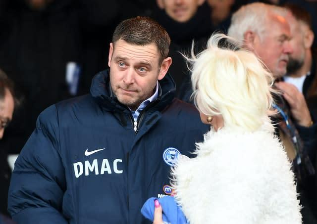 Darragh MacAnthony was not happy with League One's curtailment (Joe Giddens/PA)