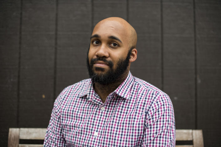 Chief Storyteller for the City of Detroit Aaron Foley. (Photo: Brittany Greeson for Yahoo News)