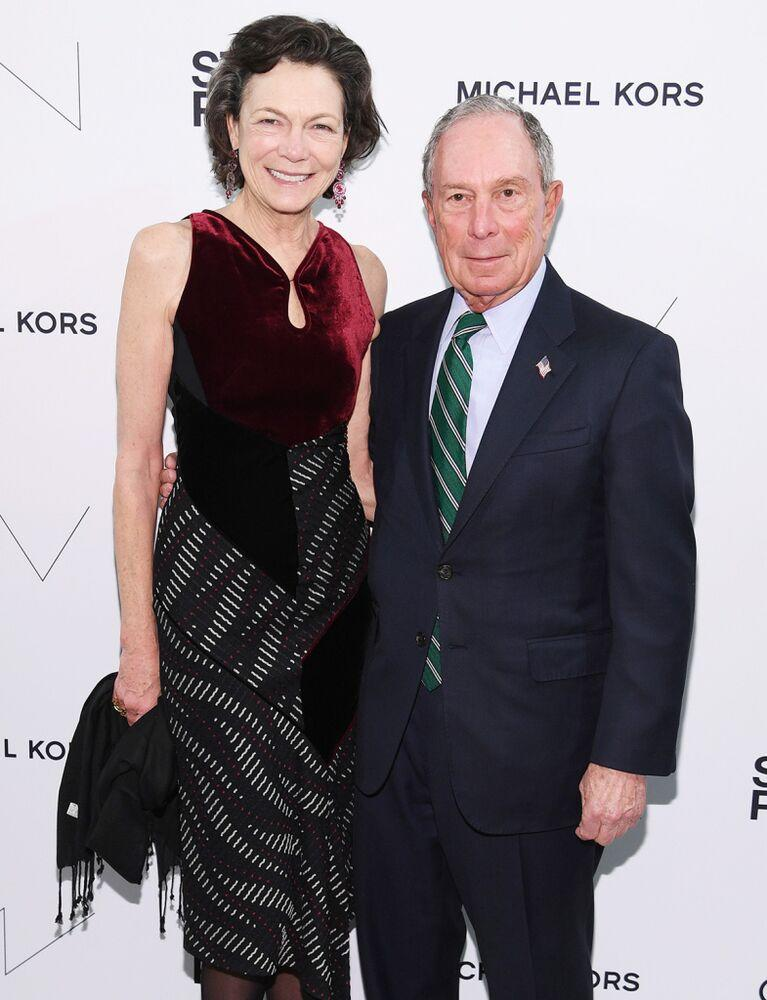 From left: Diana Taylor and Michael Bloomberg in April 2019 | Dimitrios Kambouris/Getty
