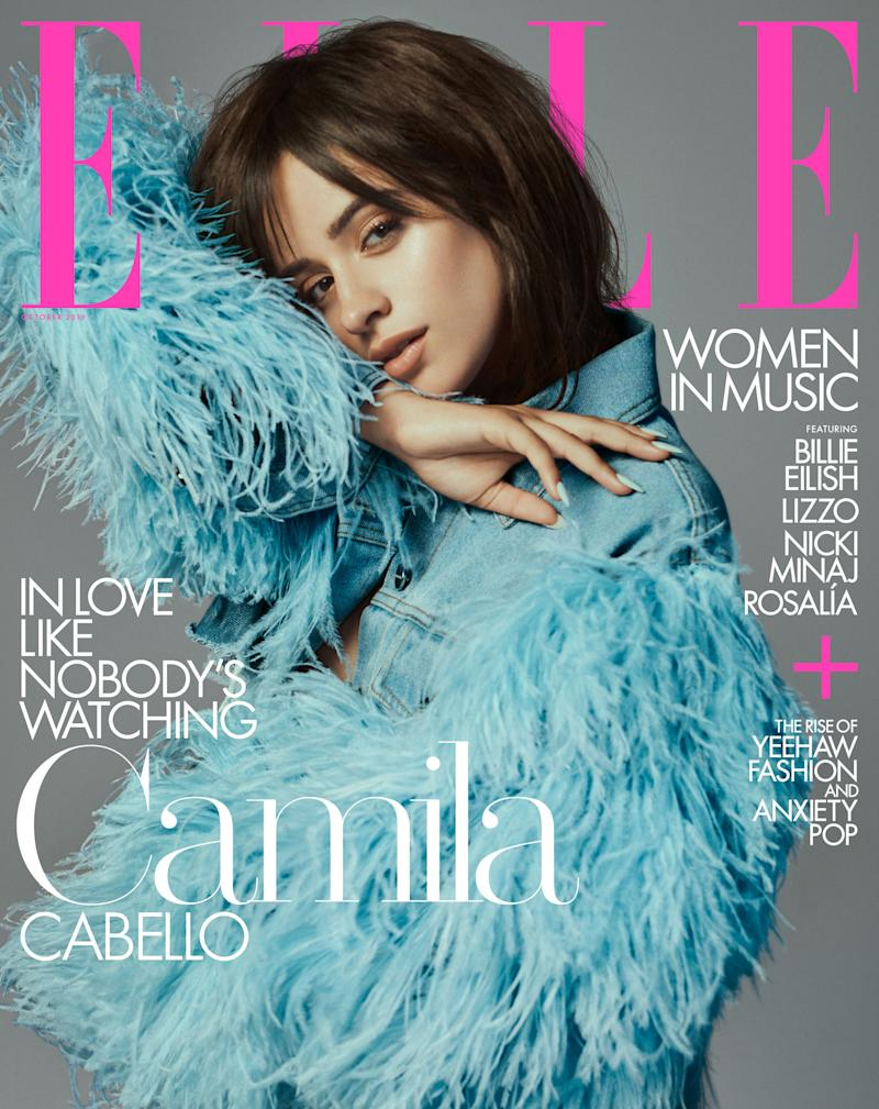 Camila Cabello covers Elle magazine. (Photo: Yvan Fabing/Elle)