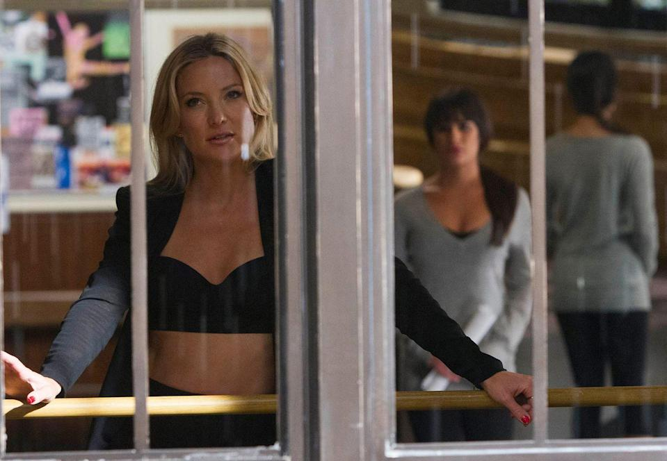 "<p>While some teachers hope to support their students with positive reinforcement, Cassandra July, Kate Hudson's character in season four, took a much more negative approach. Before becoming a dance teacher at NYADA, Cassandra was best known for throwing an audience member's phone away after it rang in the middle of one of her performances. </p><p>""It's like being a little kid again,"" Kate told <a href=""https://www.accessonline.com/articles/kate-hudson-talks-glee-fun-its-like-being-a-little-kid-again-122999"" rel=""nofollow noopener"" target=""_blank"" data-ylk=""slk:AccessHollywood.com"" class=""link rapid-noclick-resp"">AccessHollywood.com</a> at the time. ""Doing all three–singing and dancing and acting and I love it. I just love it!""</p>"