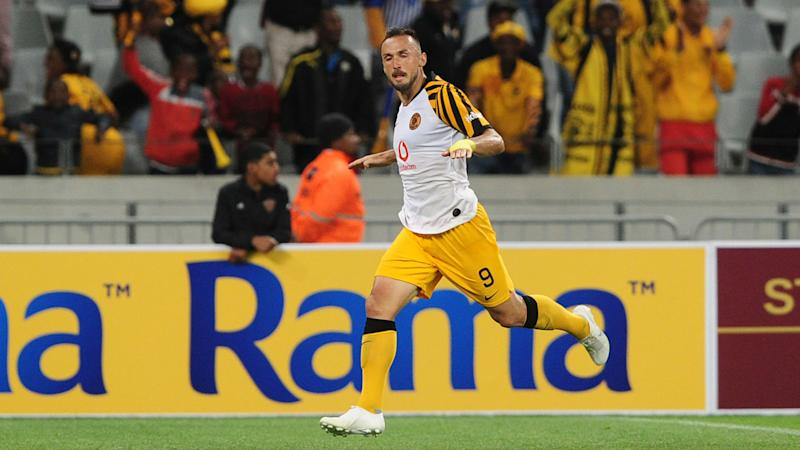 It will be strange to play in front of an empty stadium - Kaizer Chiefs striker Nurkovic