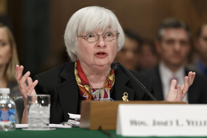 Yellen: Fed monitoring recent weaker economic data