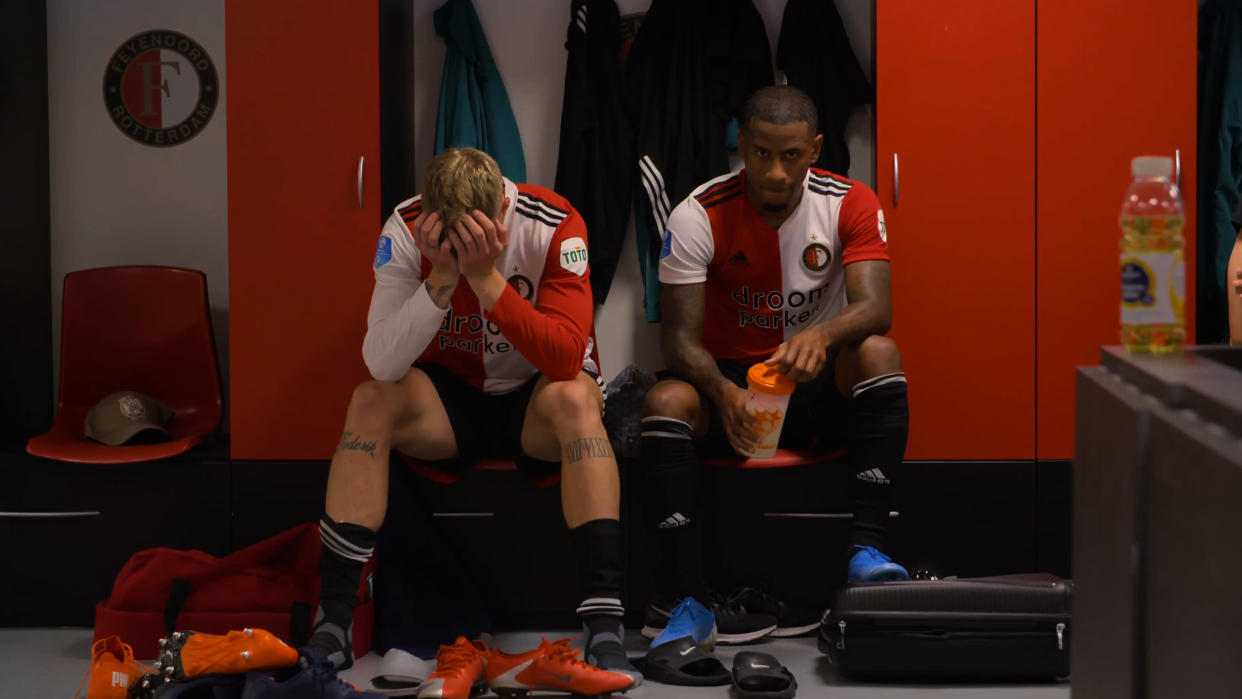'That One Word: Feyenoord' follows the titular football club as it deals with the challenges of the COVID-19 pandemic. (Disney+)