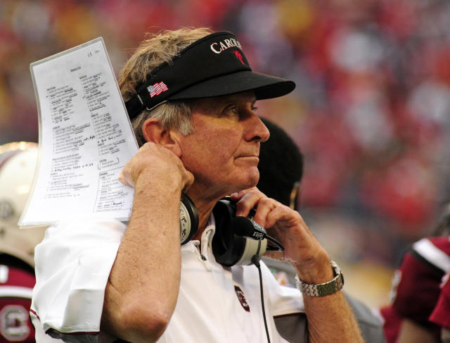 Random offseason tweet of the day: Happy belated birthday, Steve Spurrier