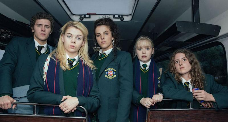 Derry Girls season 2 has been removed from Netflix (Channel 4/Jack Barnes)