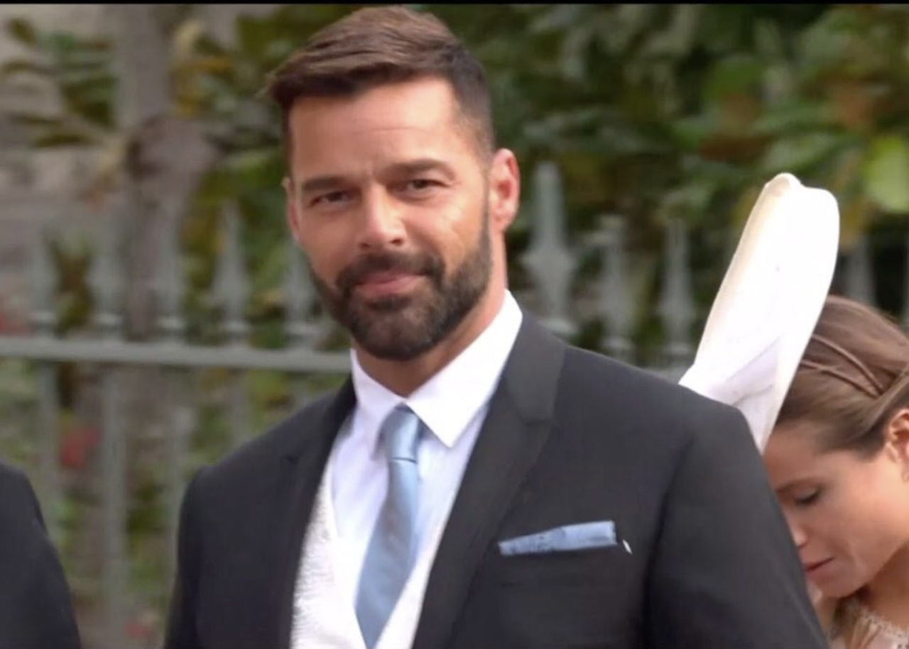 <p>When Ricky Martin showed up and you realized this wedding was going to be l-o-c-a. </p>