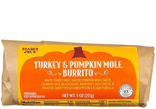 <p>The best part of Thanksgiving is the leftovers anyway, so this burrito filled with turkey and pumpkin is your shortcut to delicious-ness. </p>
