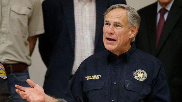 PHOTO: Texas Governor Greg Abbott speaks during a news conference concerning, Sept. 1, 2019, in Odessa, Texas. (Sue Ogrocki/AP)