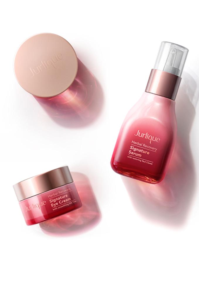 <p>Jurlique's new five-piece skincare range is JUST what we need. By harnessing the regenerative powers of nature, each product tends to a different ailment. The serum fights ageing, the mist calms and replenishes, the cream nourishes and protects, the lotion hydrates and the eye cream reduces signs of tiredness. </p>