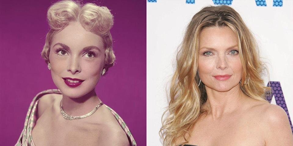 <p>Michelle Pfeiffer looks very similar to Janet Leigh. Perhaps it's their small and slender noses or their square-shaped faces. Regardless, it's making us want a reboot of <em>Psycho </em>with Pfeiffer as Marion stat. </p>