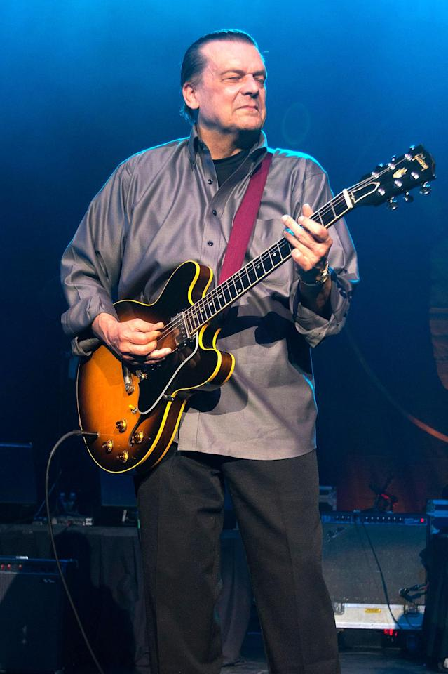 <p>J. Geils was a guitarist and leader of the J. Geils Band. He died April 11 from natural causes at the age of 71.<br> (Photo: Scott Legato/Getty Images) </p>