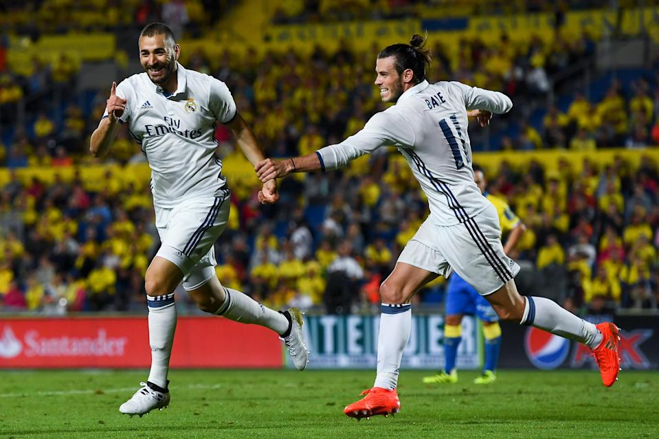 Gareth Bale and Karim Benzema are both among the 25 best players not going to the 2018 World Cup. But they're at opposite ends of the list. (Getty)