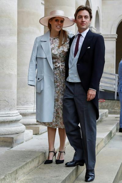 Princess Beatrice tied the knot with Italian property tycoon Edoardo Mapelli Mozzi in a private ceremony