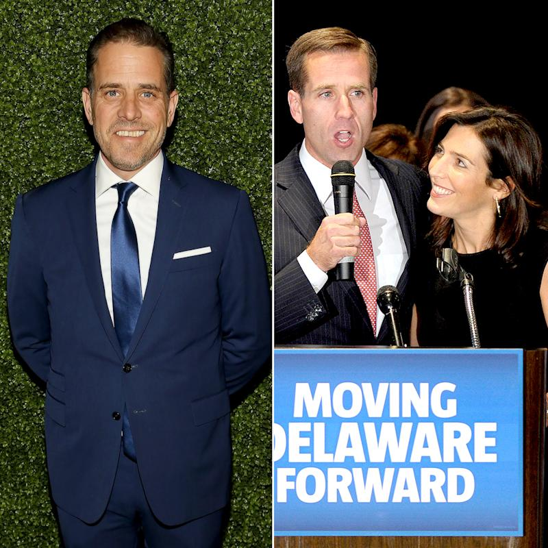 Beau Biden's Widow, Hallie, Is Dating His Married Brother Hunter: Read the Family Statements